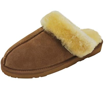 3cf9549bc4c3f Women's and Men's Sheepskin Slippers (Various colors & Sizes) $15 + ...