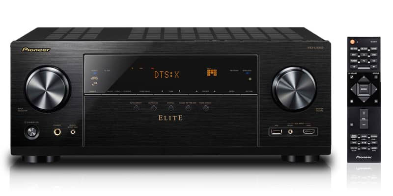 Pioneer Elite Receiver VSX-LX302 with 4K HDCP2.2 Dolby Atmos for $499
