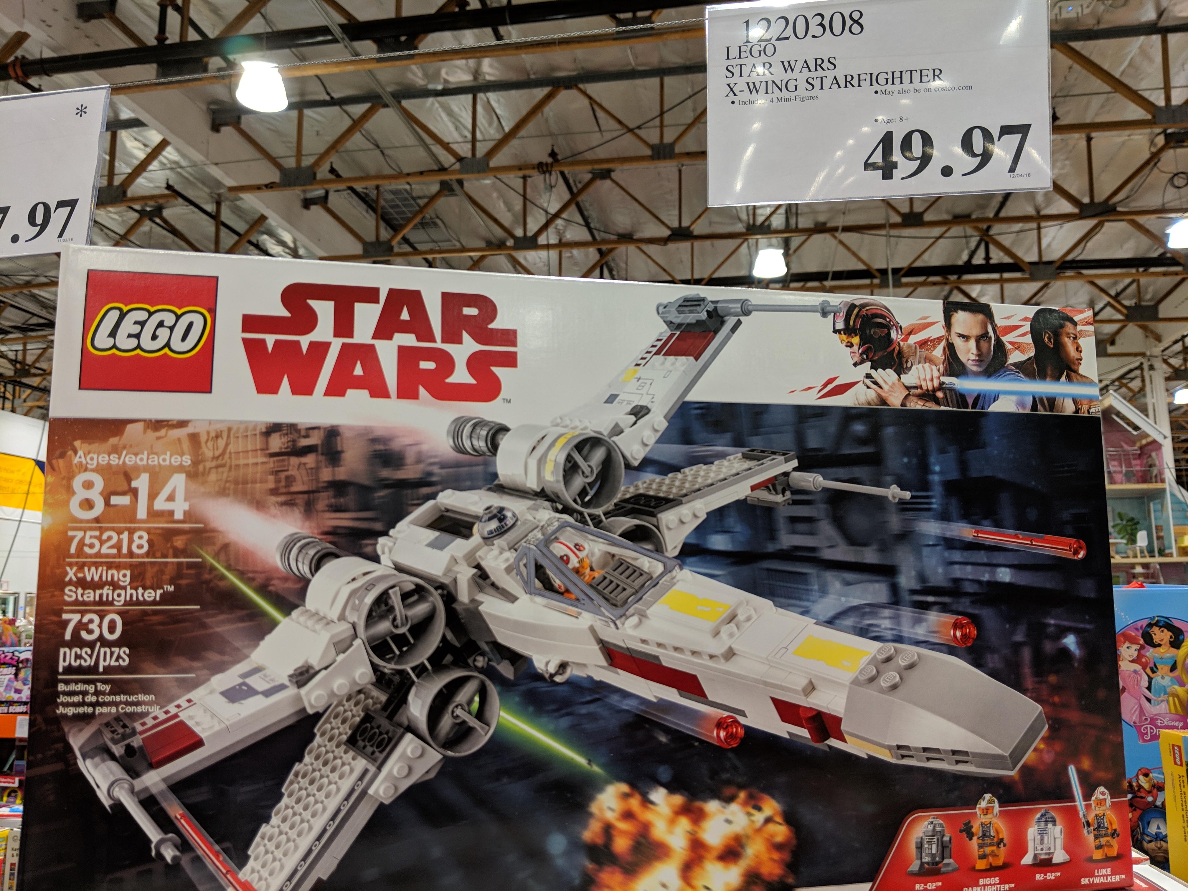 Lego 75218 Star Wars X Wing Starfighter 50 Costco Bm