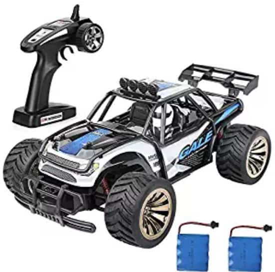 Amazon Lightning Deal: Electric Rc Car, 1:16 2W 2.4Ghz Remote Control Racing Cars $25.99