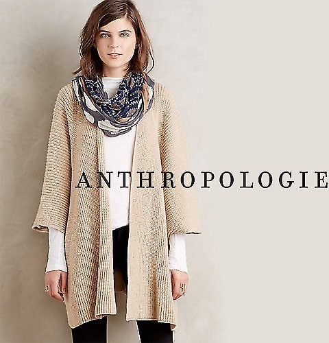 Extra 25% Off All Womens Clothing at Anthropologie