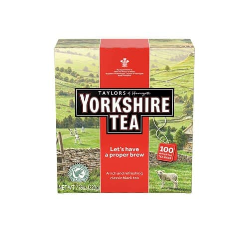 Taylors of Harrogate Yorkshire Red 100 Teabags for $5.22 @Amazon