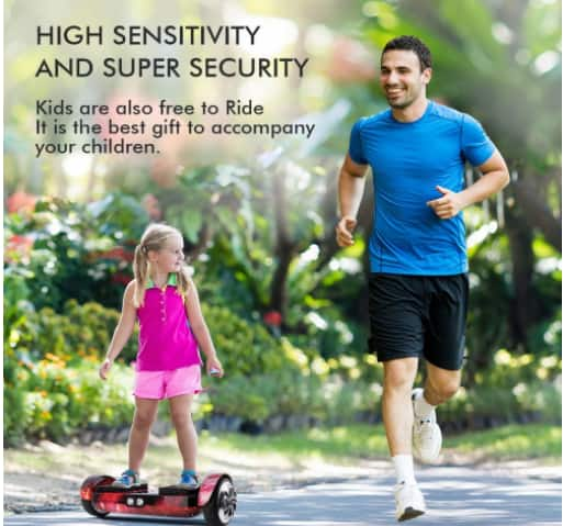 Self Balancing Hover Board with Bluetooth Speaker $239.99+ Free Shipping@Amazon.