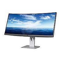 """Amazon Deal: Dell U3415W Black 34"""" 3440x1440 Curved LED Backlight IPS Monitor - $810 FS at Newegg"""