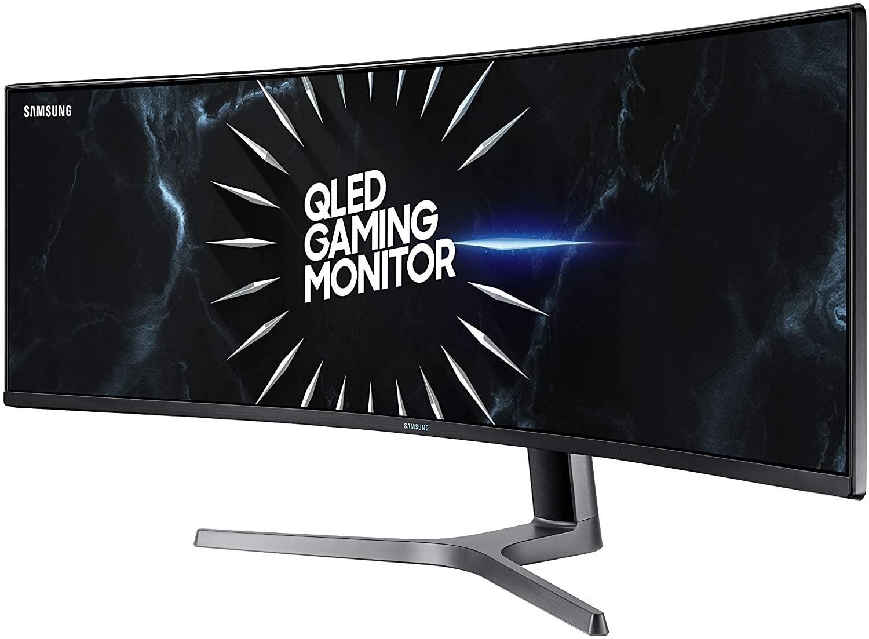 SAMSUNG LC49RG90SSNXZA 49-Inch CRG9 Curved Gaming Monitor, Black, QHD, 120Hz AMAZON $899.99