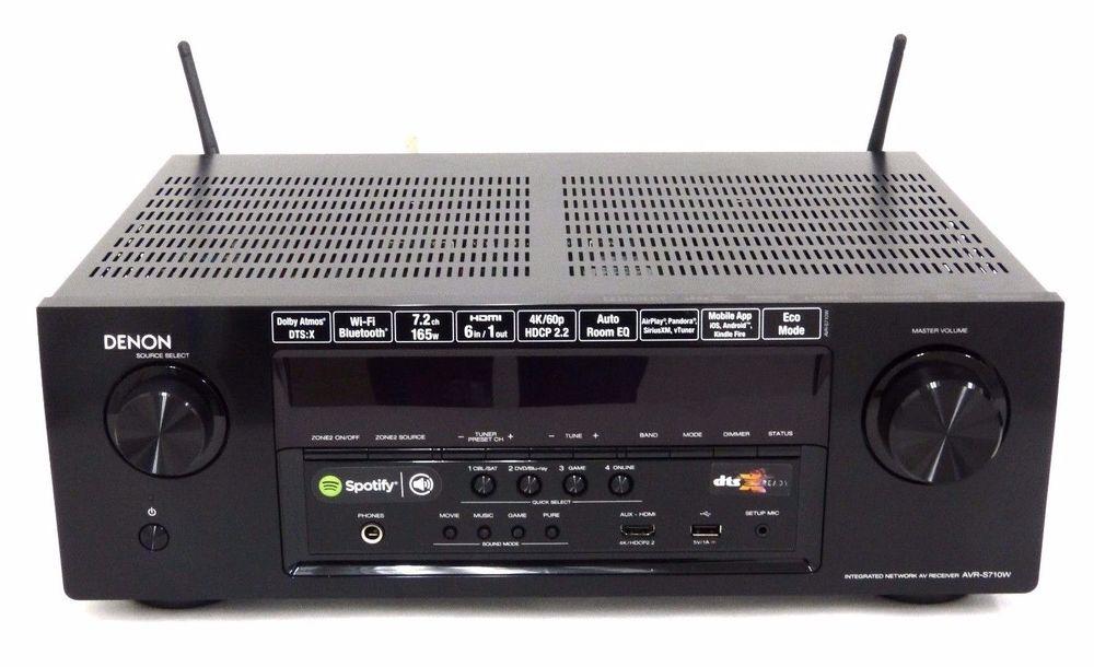 Denon AVR-S710W (refurb) $269.99 - Accessories4less
