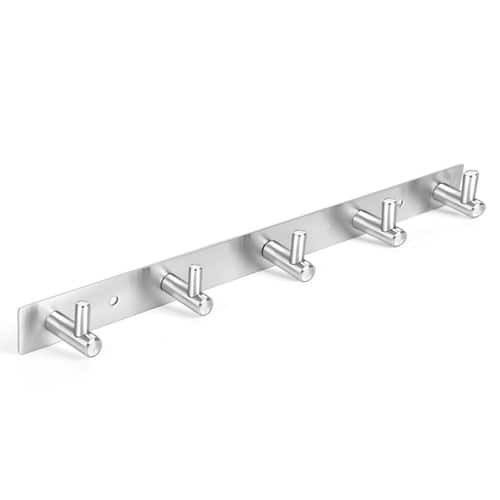 Coat Hook Rack Wall Mount Door Stainless Steel Heavy Duty (5 hooks) - $11.89 @ Amazon (Prime)