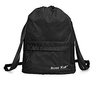Waterproof Drawstring Gym/Basketball Bag - $7.96 (Prime)