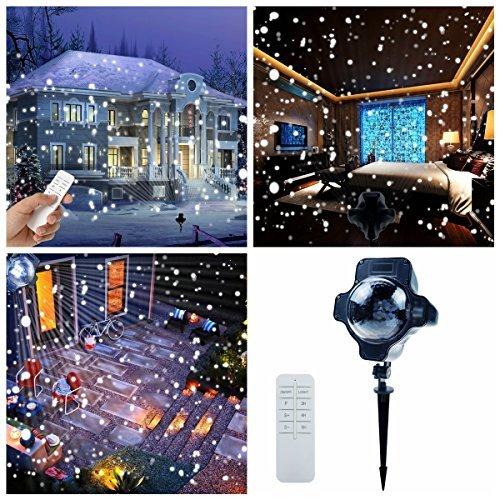 Snowfall Led Christmas Lights Display Projector $25.99