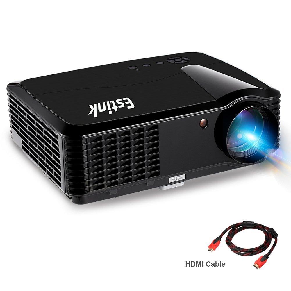 WXGA (1280x800) LCD/LED Projector - 720p HD - old school 3D - 2x HDMI, USB $139.99