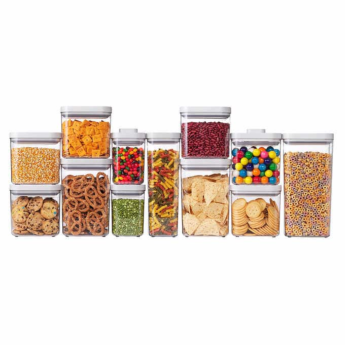 Costco OXO SoftWorks 12-piece POP Container Set $69.99