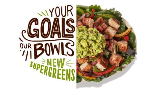 CHIPOTLE: Free delivery on new Lifestyle Bowls ($10 min)