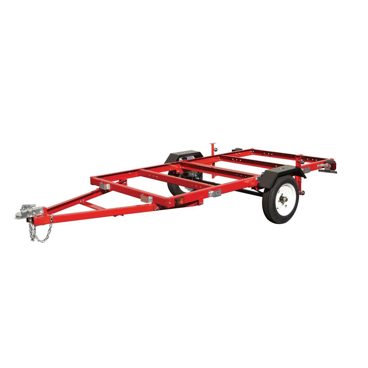 4' x 8' 1195 lb. Capacity Heavy Duty Folding Utility Trailer $224.99(+tax) AC B&M - Harbor Freight Hools