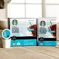 Starbucks Deal: Target cartwheel Starbucks Keurig k-cup iced coffee 50% off plus $1.50 off coupon...$5.50 for 16 ct box