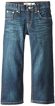 Levi's Boys' Regular Fit 505 Regular Fit Jeans, sizes 2T-20, $12.78 @ Amazon