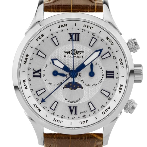 SAVE 88% on Balmer Swiss Made Phantom II men's watch at  $119.99