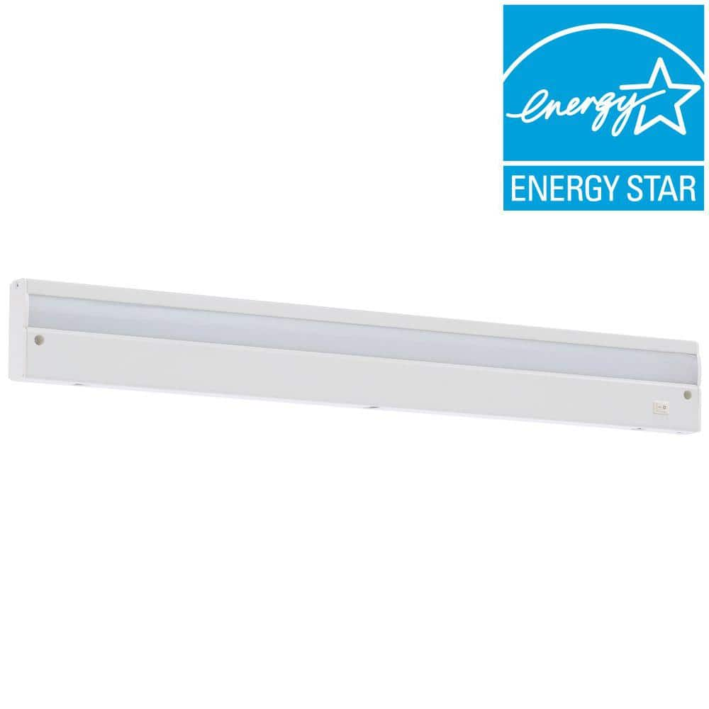 Nice Commercial Electric LED White Direct Wire Under Cabinet Light for Home Depot