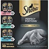 Sheba Perfect Portions Seafood Variety Pack, 48 ct. Wet Cat Food Trays $6.01 Free Shipping Add On or Use Alexa Limit 5 $6.43