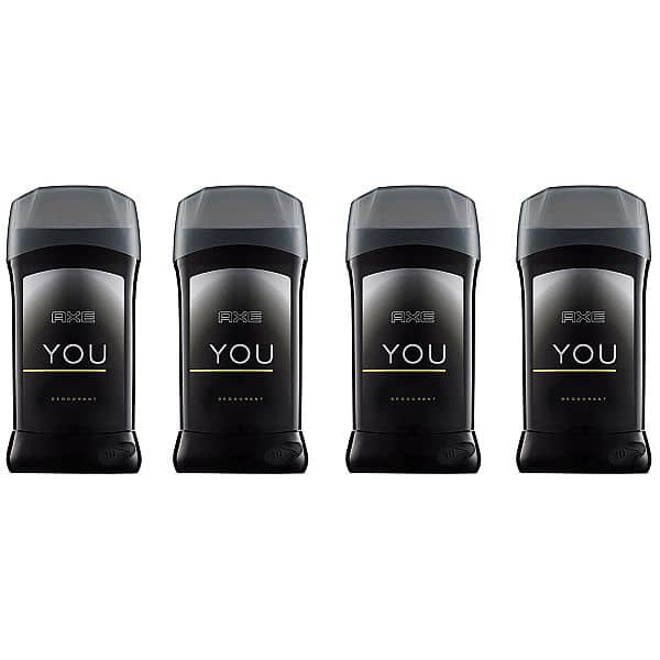 Add-on Item, AXE Antiperspirant Deodorant Stick for Men, YOU 2.7 oz, 4 Count $4.75