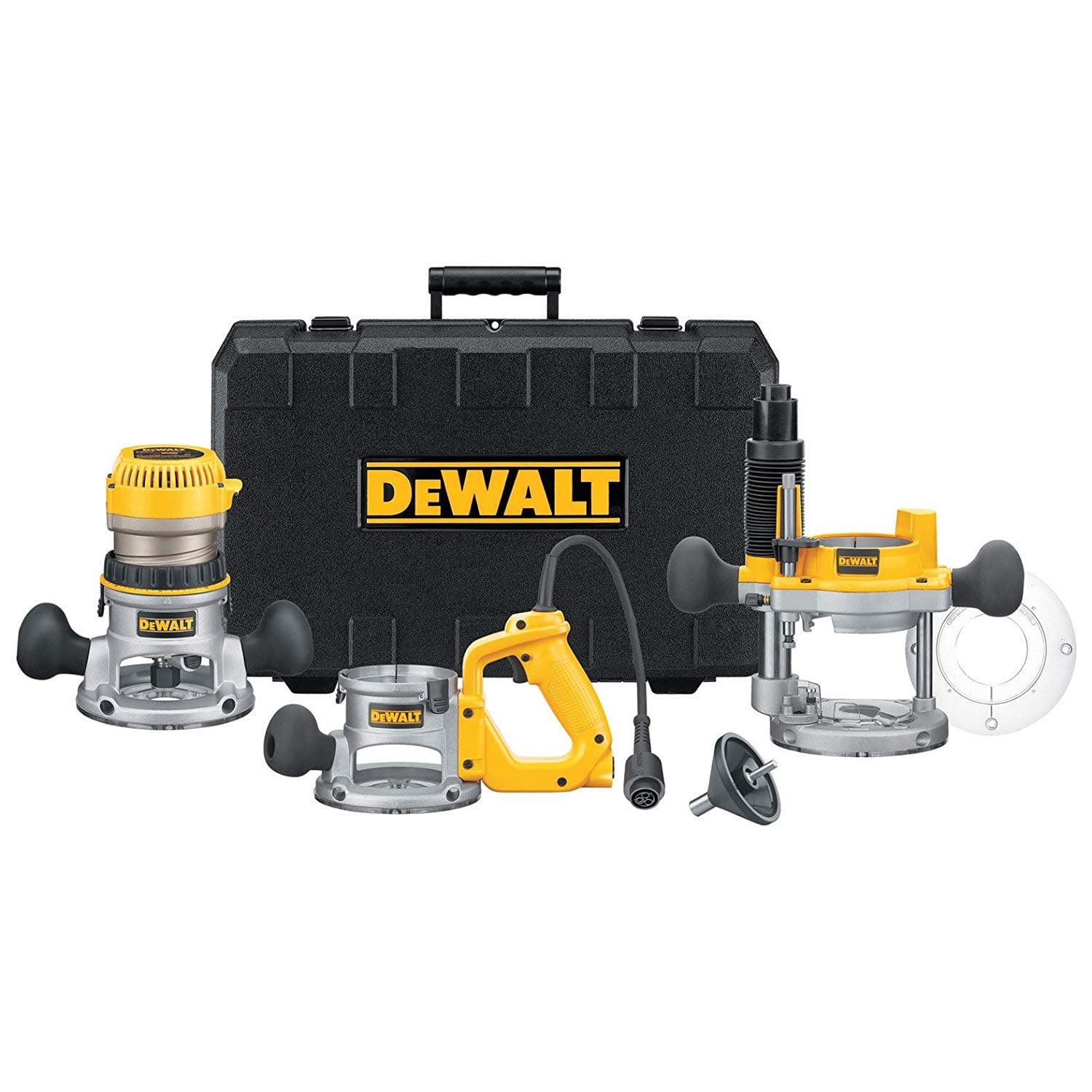 DEWALT DW618B3 12 Amp 2-1/4 Horsepower Plunge Base and Fixed Base Router $169.99 at Ratuken through CPO Outlets w/ F/S
