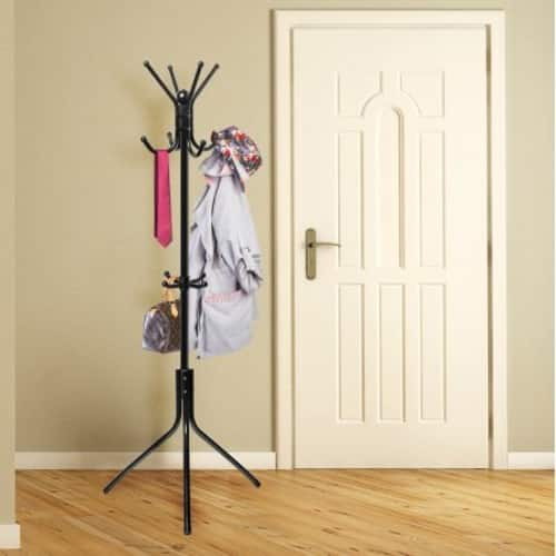 OxGord Coat Hat Metal Rack Organizer Hanger Hook Stand free shipping $ 19.95 on Walmart.com $19.95