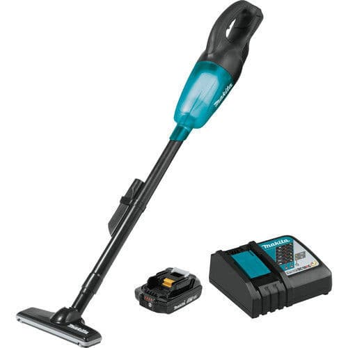 NEW Makita Cordless Vacuum XLC02R1B with battery and charger on ebay $79.2