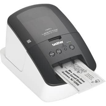 $52 (no tax)+ FreeShip-Brother QL-710W Hi-Speed Thermal Label Printer W/ in-built Wifi Networking- Print From Apple/Android Devices - bhphotovideo.com **UPDATE* also $55+FS Buy.com