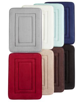 Inspire Plus Foam Bath Rug (7 Colors) More $7.99 @Macy's