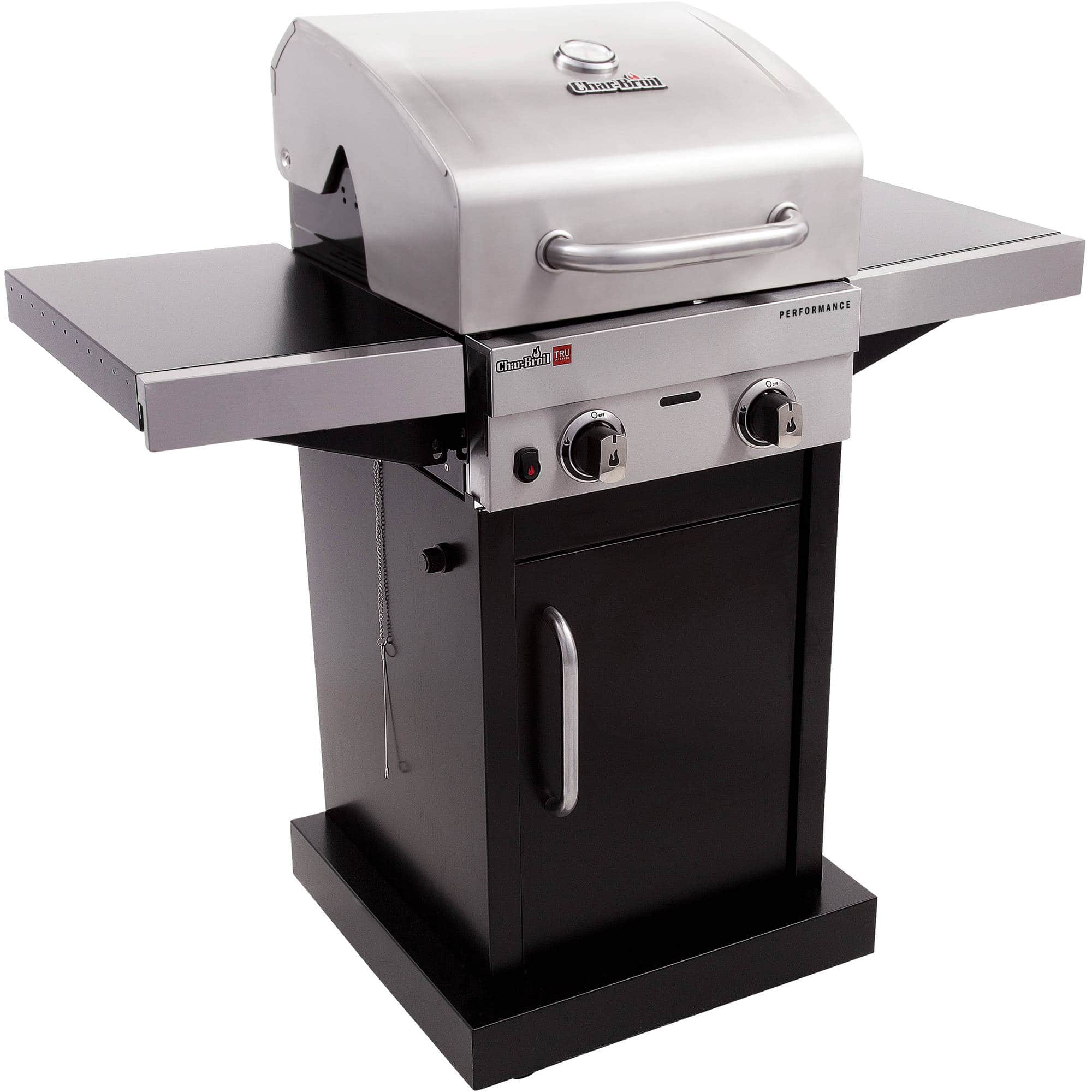 WM B&M Char Broil TRU Infrared and gas grill reg $229 clearanced at