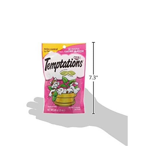 Amazon Add-On TEMPTATIONS Cat Treats, Catnip flavor, 3 oz./12 Pack, $5.57 after Extra Savings & Pet Promo