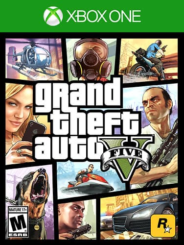 Grand Theft Auto V - Xbox One at online Walmart $17
