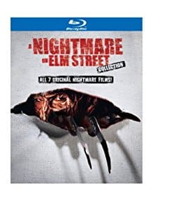 A Nightmare on Elm Street Collection 7 Movies [5 Discs] [Blu-ray] Best Buy Amazon Frys $24.99