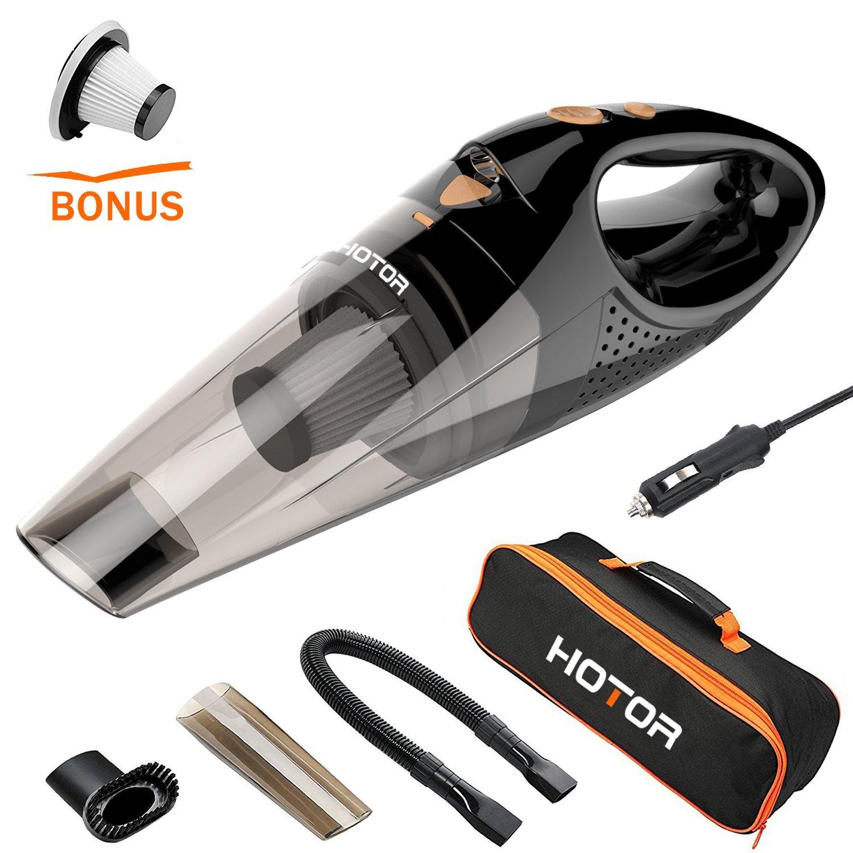 Vacplus Car Vacuum Cleaner, 12V Wet & Dry Portable Handheld Vacuum Cleaner  $19.50 AC