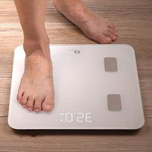 Bluetooth Body Fat Scale w/ IOS & Android App $22.79
