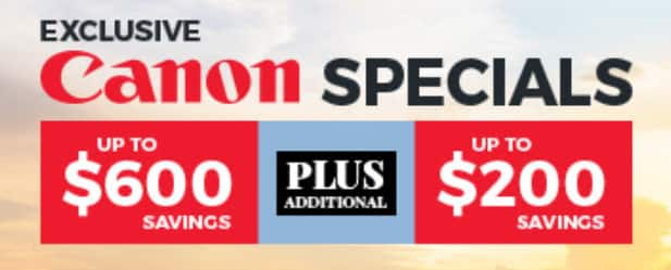 YMMV - Check your emails for $200 offer from B&H towards Canon Camera and Lens