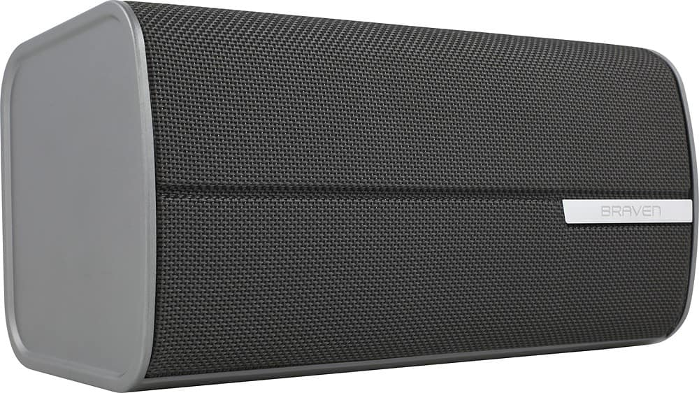 BRAVEN - 2200m Portable Bluetooth® Smart Speaker - Graphite/Dark gray (BEST BUY CLEARANCE) $119.99