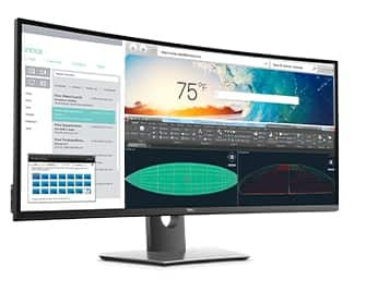 Dell U3818DW - 38in Curved Monitor, KVM switch + USB-C, 3840 x 1600, $880 After Rebate