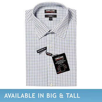 Costco - Kirkland Signature Men's Tailored Fit Non-Iron Dress Shirt - $14.97 (ships free)