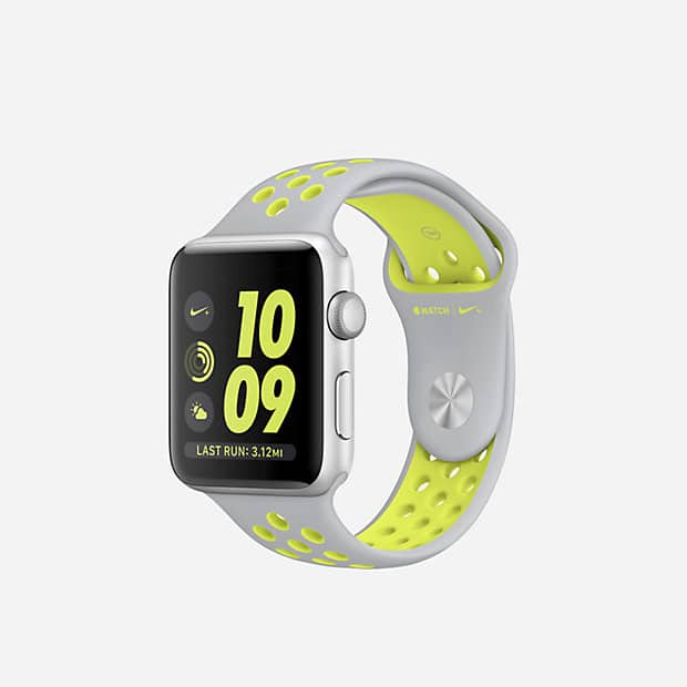 Apple Watch Nike+ (Various colors) in stock on Nike.com  15% cash back with Discover Deals