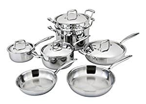 Engel-Riviere All-Ply 11 Piece Copper Core Cookware Set - $622 Shipped $621.98