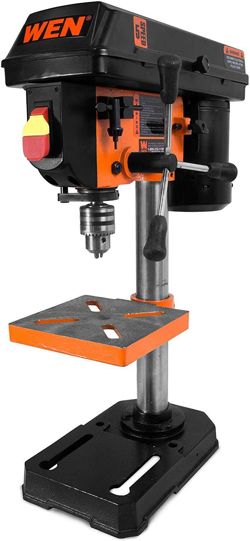 WEN 4208T 2.3-Amp 8-Inch 5-Speed Benchtop Drill Press - - Amazon.com $50 $50