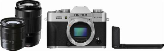 Fujifilm - X Series X-T20 Mirrorless Camera with 16-50mm and 50-230mm Lenses - $1199+tax+free shipping