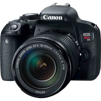 Canon t7i with 18-135mm for $920 or less YMMV