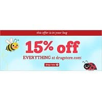 Drugstore.com Deal: Drugstore 15% off ends 4/30