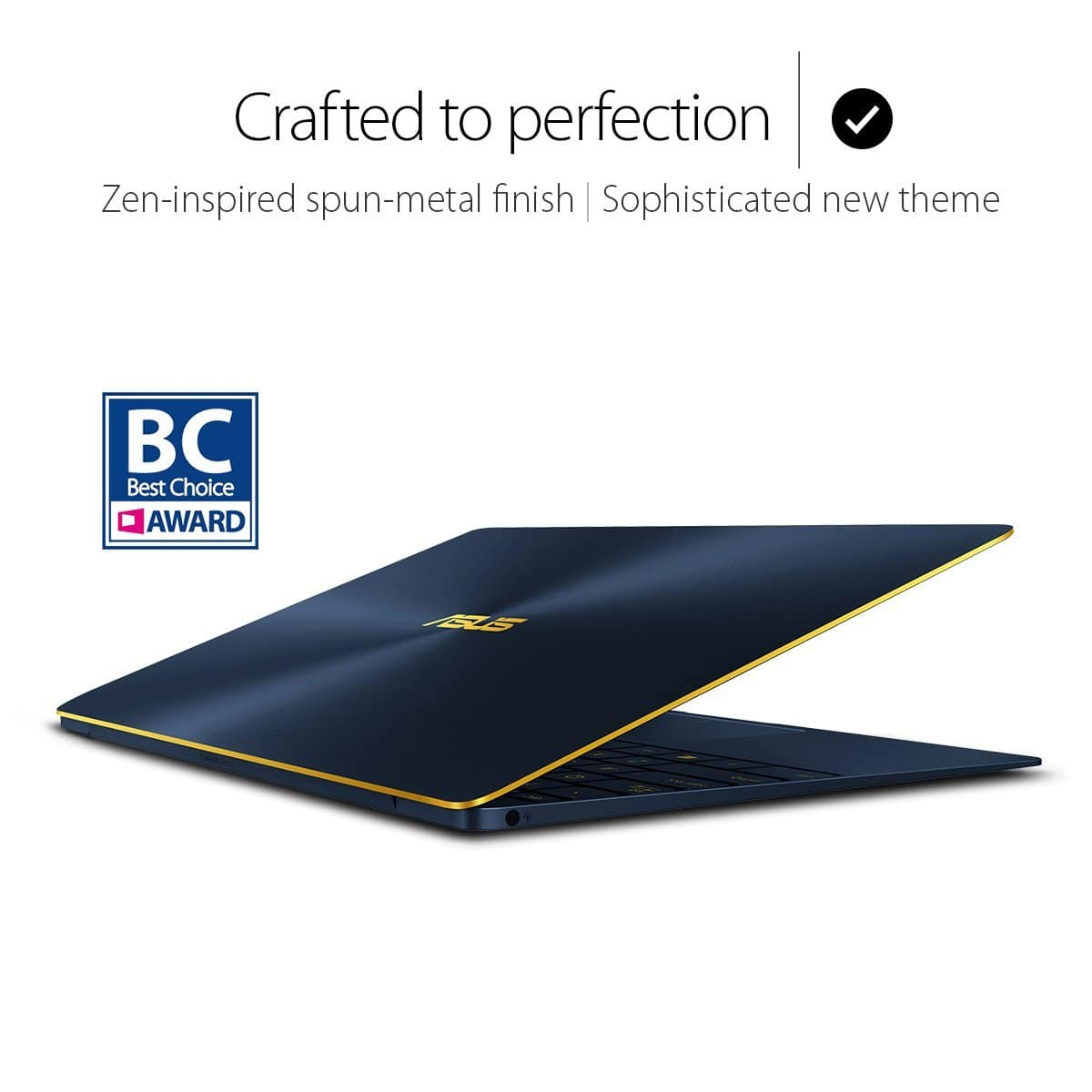 ASUS ZenBook 3 UX390UA 1080p-I7-16GDDR3-512PCIe SSD Ultrabook (Royal Blue) Lowest price $999