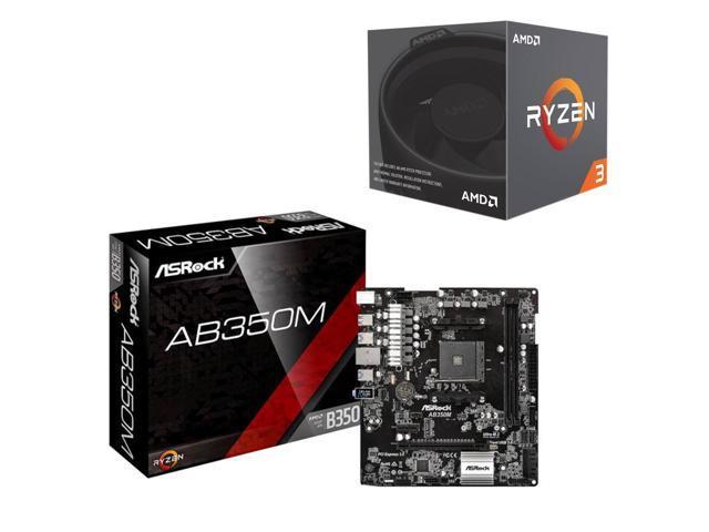 AMD RYZEN 3 1200 + ASRock B350m $149.98