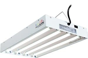 Agrobrite Fluorescent Grow Light System: 2 foot FLT24 $72.70, 4 foot FLT44 $90.67