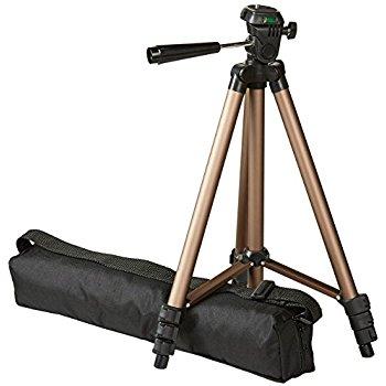 AmazonBasics 50-Inch Lightweight Tripod with Bag $13