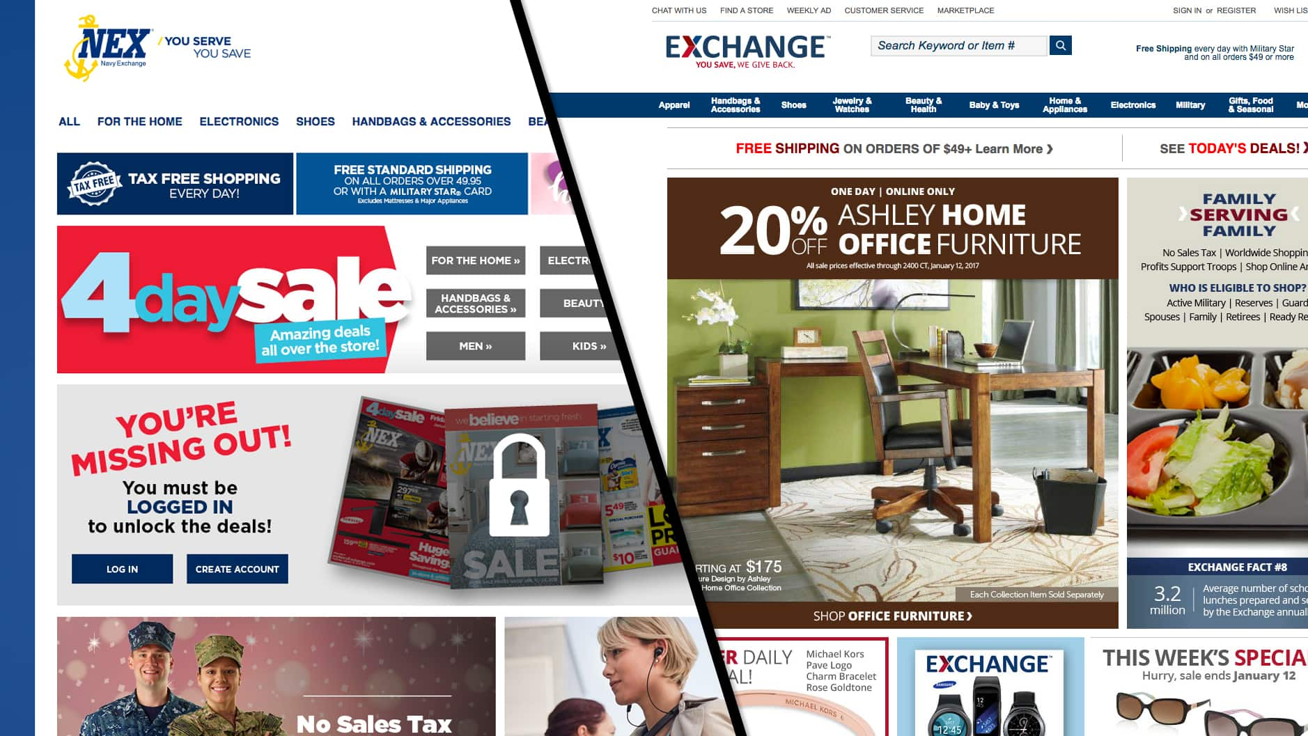 All Military Veterans can shop AAFES and/or Navy Exchange starting on Nov 11, 2017