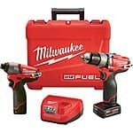 NorthernTool.com - Milwaukee M12 Fuel 2-Combo Kit (2597-22) $219 with Free Shipping